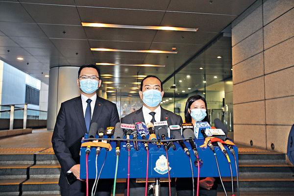 申選舉開支$489萬 警拘3人涉串謀詐騙 包括區議員王百羽李軒朗