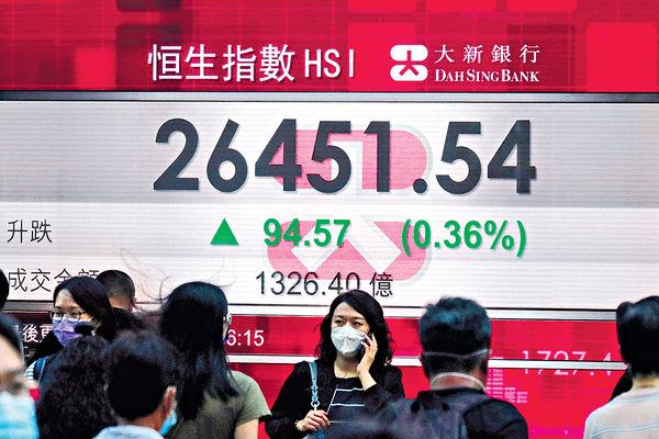 上周漲294點 3周飈2344點 疫情再爆新經濟股或回勇