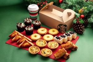 【Starbucks聖誕節2020】香港星巴克Starbucks推冬日烤蘋果咖啡系列 烤蘋果氮氣冷萃咖啡/聖誕樹Brownie布朗尼/STARBUCKS® X KATE SPADE系列新品