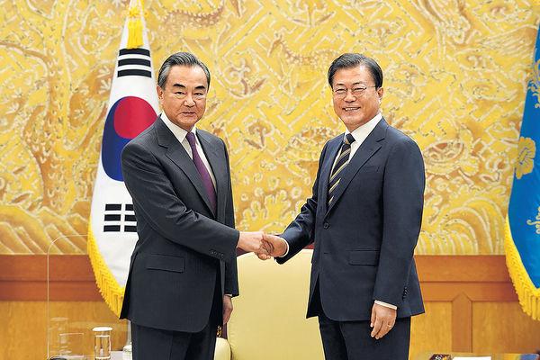 王毅稱待條件成熟 習近平訪韓可成行