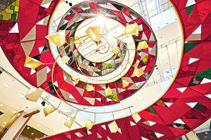 將軍澳廣場 聖誕布置宣揚環保