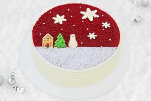 【Lady M】Lady M聖誕限定紅絲絨蛋糕回歸!雪花的朱古力片/聖誕樹北極熊可愛裝飾