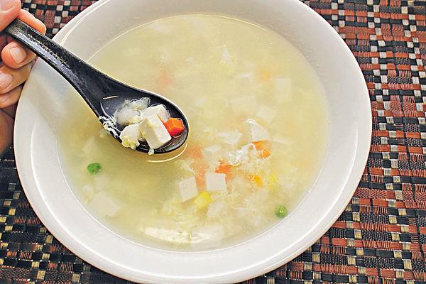 豆腐雜菜湯(4人分量)
