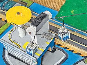 滑輪加磁鐵建可動模型