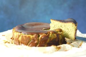 【巴斯克芝士蛋糕食譜】3步完成零失敗人氣甜品!抹茶巴斯克芝士蛋糕食譜