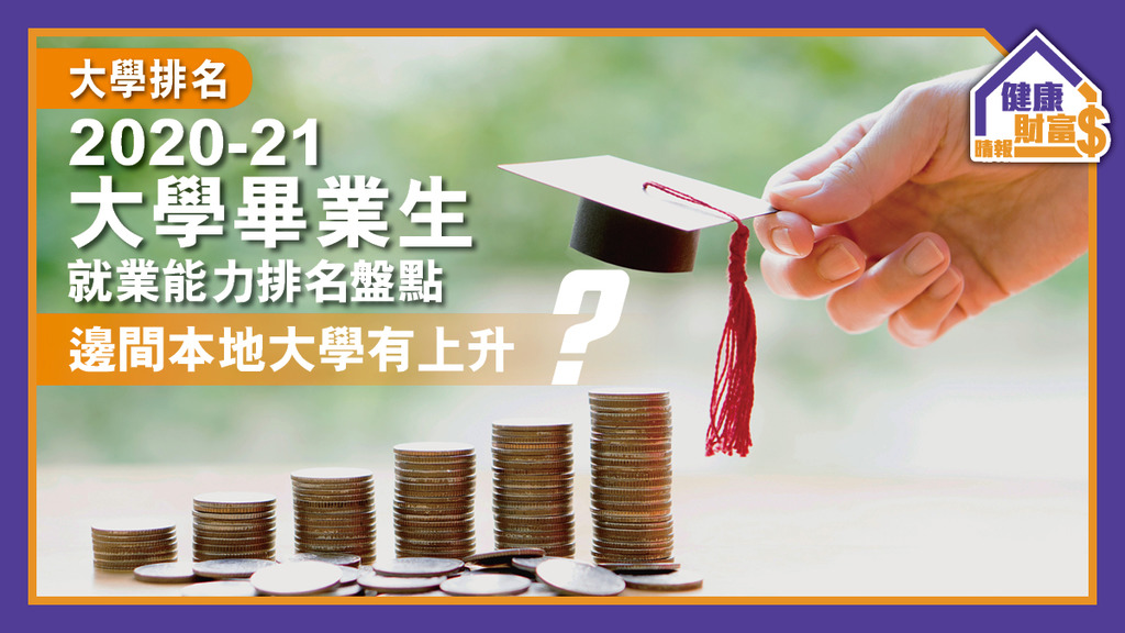 【大學排名】2020-21大學畢業生就業能力排名盤點 邊間本地大學有上升?