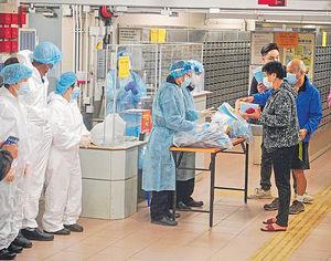 葵盛西邨同層12人感染 疑因同處疫境 亞博3員工中招 曾接觸方樹泉檢疫者