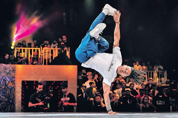 霹靂舞成巴黎奧運項目