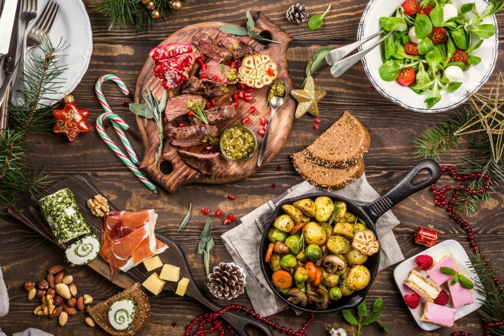 【聖誕外賣優惠】聖誕大餐外賣速遞優惠推介! 最平人均$199就食到烤火雞/燒豬肋骨/海鮮拼盤/燒和牛沙律/甜品蛋糕