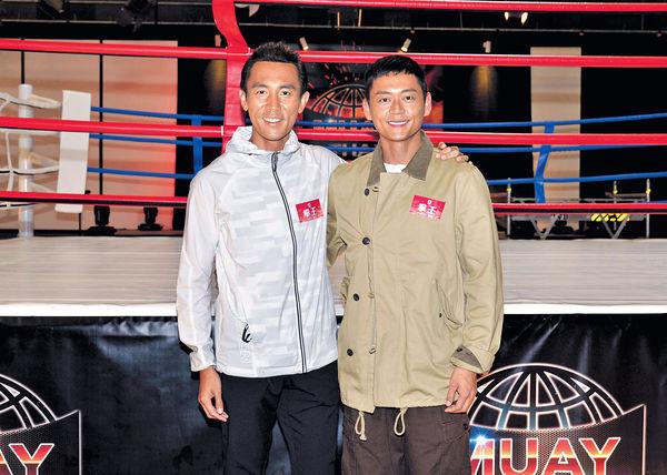 激戰泰國拳王 譚俊彥為1集戲勁減22磅