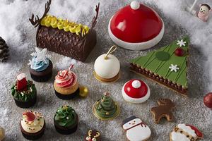 【聖誕蛋糕2020】香港7款打卡聖誕蛋糕甜品推薦 朱古力樹頭蛋糕/抹茶聖誕樹/焙茶/冧酒