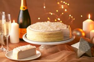 【台灣甜品2020】台灣Lady M士多啤梨香檳千層蛋糕 法國香檳啫喱+草莓吉士忌廉