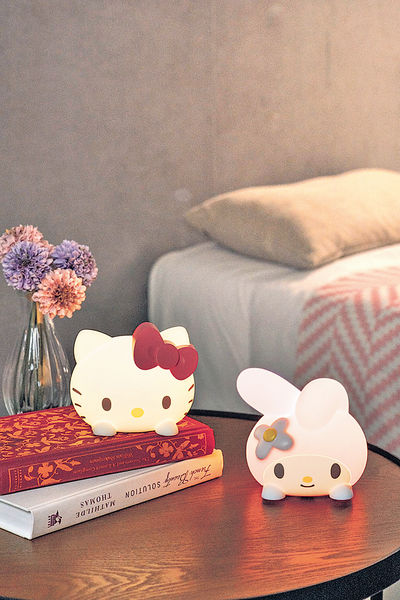 Hello Kitty+My Melody 7-11推2款限量版Sanrio LED感應小夜燈