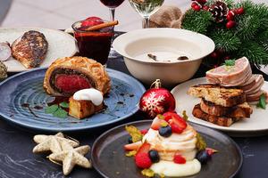 【聖誕大餐2020】尖沙咀露天法式餐館District 8推出聖誕大餐 威靈頓和牛/火雞肉凍/聖誕蛋白脆餅