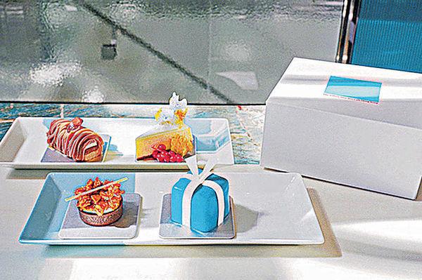 The Tiffany Blue Box Cafe 首推甜品禮盒外賣