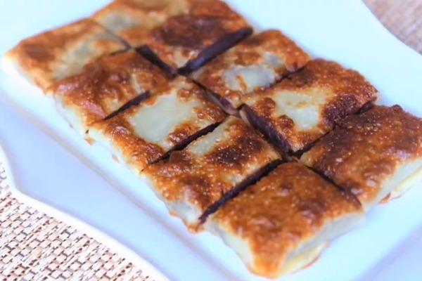 【中式甜品】簡單4種材料就做到傳統上海甜點!  外脆內軟豆沙鍋餅