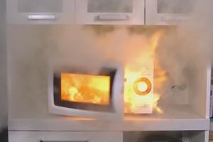 【微波爐安全】日本女叮番薯着火冒煙恐爆炸 東京消防局教4大高危食物+安全使用微波爐貼士