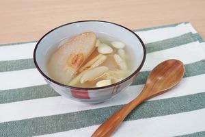 【冬天湯水】解燥潤肺+預防傷風感冒冬天湯水  沙參麥冬雪梨湯