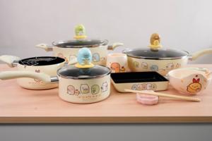 【百佳印花】百佳超級市場印花換購角落生物廚具家品 得意造型易潔鑊/玉子燒煎鍋/陶瓷餐具/矽膠模具