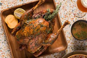 【聖誕到會2020】中環餐廳Big Sur推出聖誕外賣套餐 4.8公斤原隻火雞/海鹽焦糖奶凍蘋果批