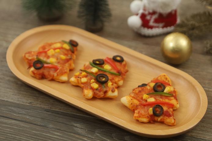【聖誕食譜】勁有氣氛Party food!氣炸聖誕樹 Pizza