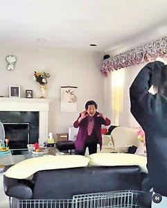 做3次檢測加全身消毒 陳瀅飛加國送驚喜搞喊婆婆