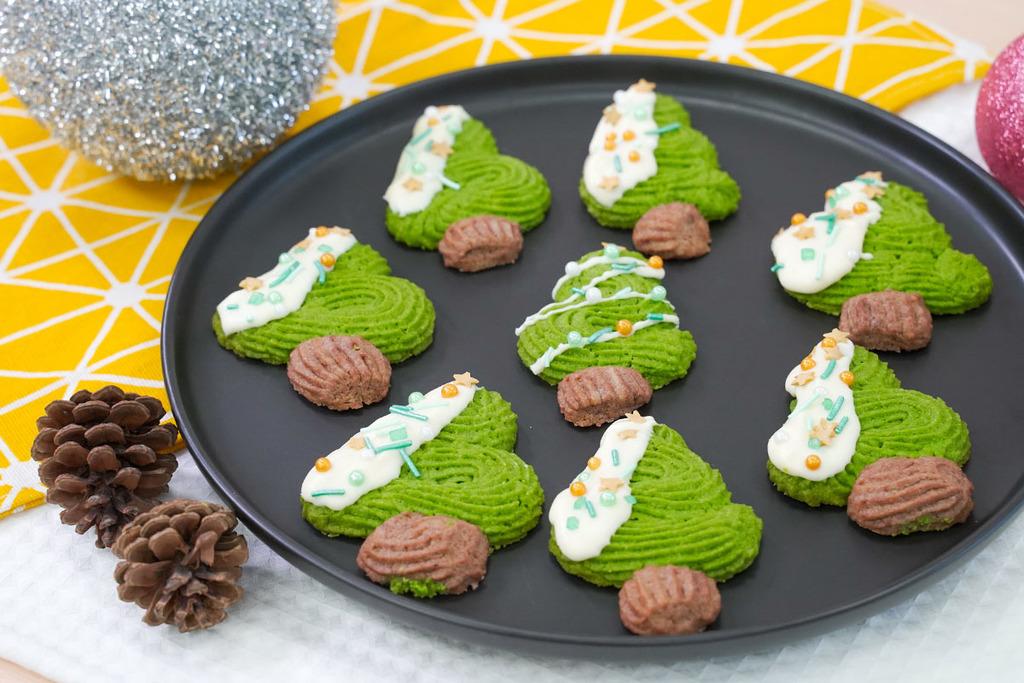 【聖誕食譜】新手都做到!4步整出超可愛聖誕小食  聖誕樹曲奇食譜