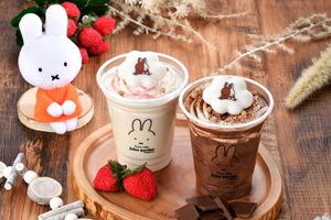 【日本Miffy Cafe】日本Miffy花屋飲品店推出冬季限定飲品 暖笠笠棉花糖忌廉焦糖/朱古力牛奶
