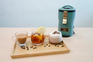 【咖啡機】懶人精品咖啡神器!人氣日本TOFFY Aroma自動研磨咖啡機  二合一磨豆濾煮3分半鐘飲到