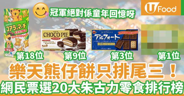 【零食推介】第三位DONKI長期賣斷貨!日本網民票選20款人氣朱古力零食排行榜