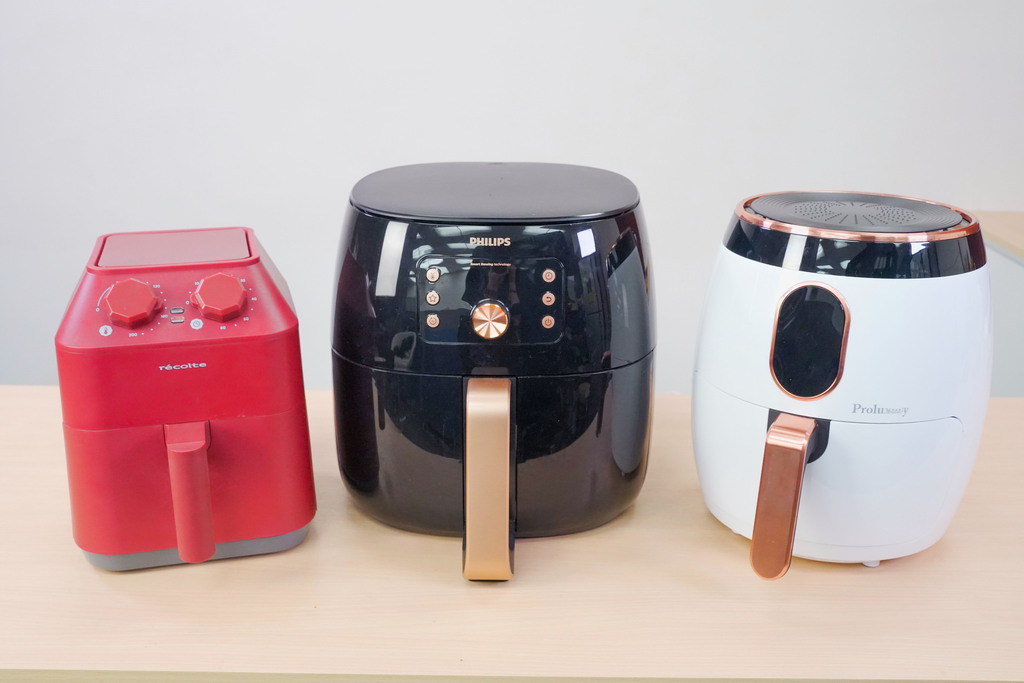 【氣炸鍋推薦】實測3款大熱氣炸鍋品牌優缺點比較  récolte/普樂氏/飛利浦Philips氣炸鍋