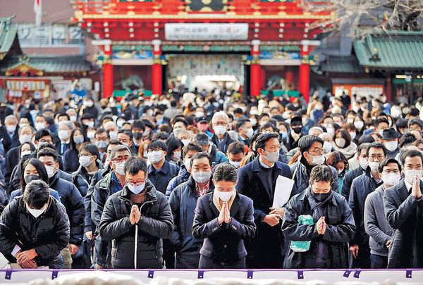 東京擬周六頒緊急狀態 維持1個月