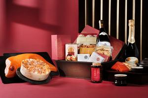 【賀年糕點2021】香港港麗酒店農曆新年食品系列 賀年糕點/鮑魚紅酒香檳禮籃