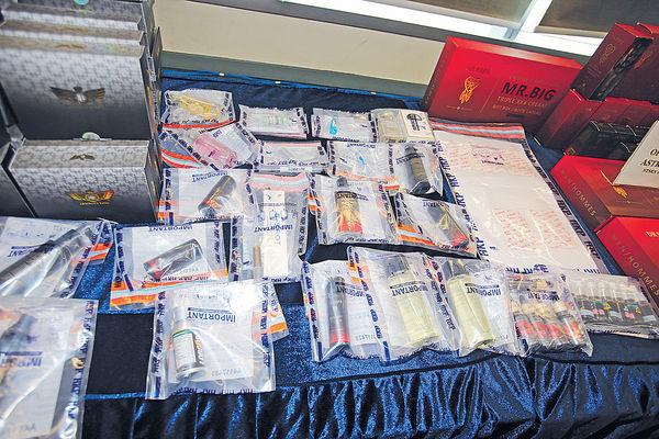 涉網售迷姦藥 警拘3男檢逾$72萬貨