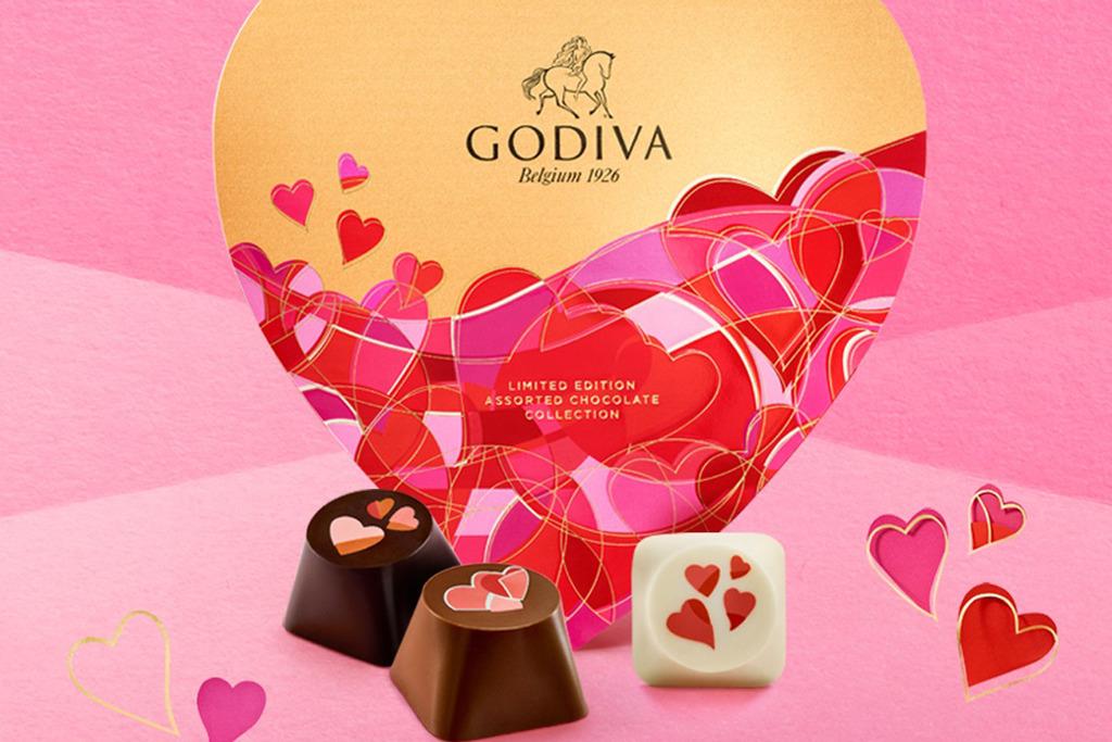 【情人節2021】Godiva推出情人節朱古力禮盒 5款限量朱古力/情人節禮盒/流心脆皮雪條