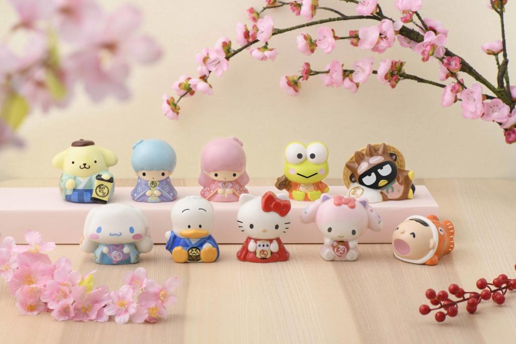 【便利店新品】7-Eleven推出Sanrio新年精品!Hello Kitty/布甸狗/Little Twin Stars開運小瓷罌