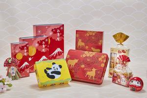 【新年禮盒2021】日本老牌甜點YOKU MOKU推出6款賀年禮盒 雪茄蛋卷/朱古力夾心宇治抹茶/焙茶曲奇/港日限定熊貓禮盒