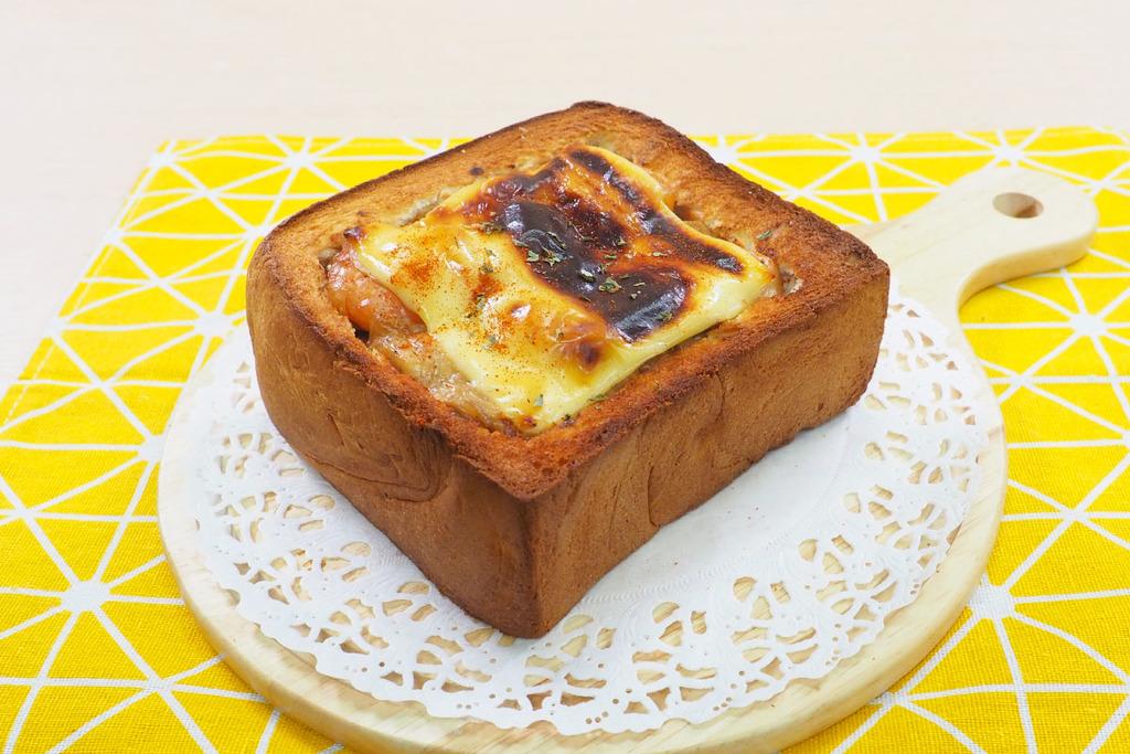 【氣炸鍋食譜】4步自製台灣街頭小食  氣炸鍋芝士熔岩吐司食譜