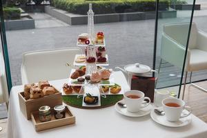 【尖沙咀下午茶】尖沙咀Hotel ICON巴黎鐵塔主題酒店下午茶  芝士玫瑰撻/蝴蝶酥/瑪德蓮蛋糕