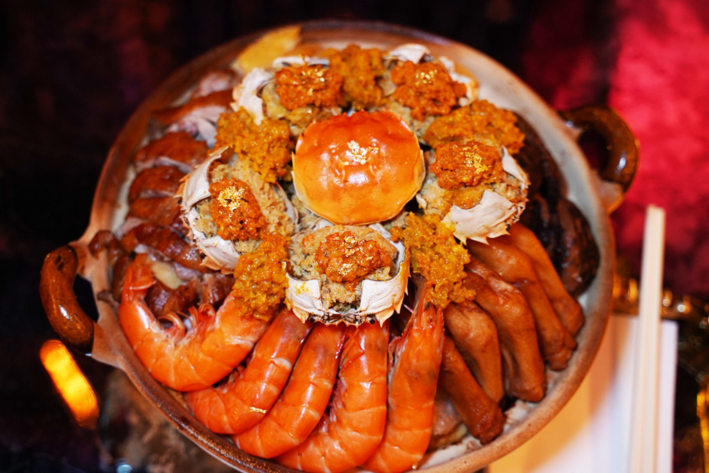 【新年外賣2021】蟹麵專門店推出花膠蟹粉龍蝦醬盆菜 加入北海道毛蟹/12隻大閘蟹蟹粉/原隻南非花膠