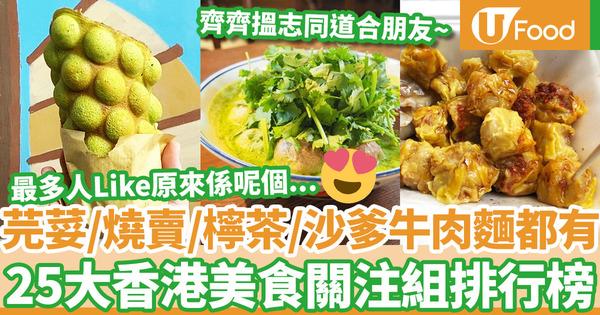 【飲食熱話】香港燒賣關注組短短半年吸近9萬粉絲!一文盤點25個香港美食關注組網絡群組