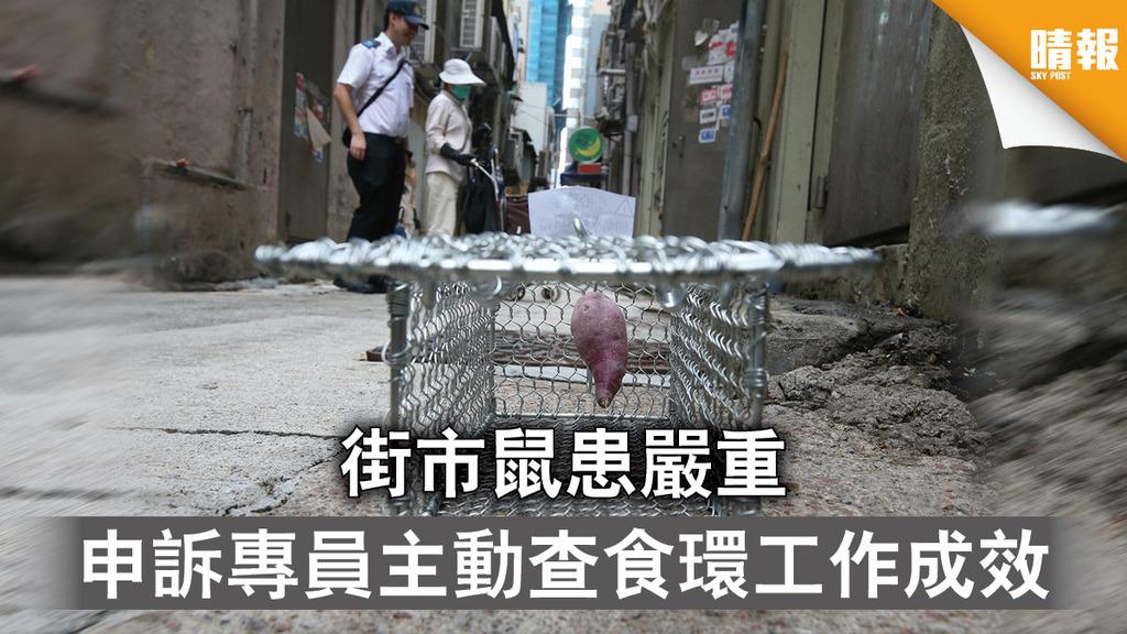 申訴專員|街市鼠患嚴重 申訴專員主動查食環工作成效