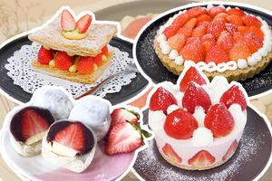 【士多啤梨食譜】6款簡易士多啤梨甜品食譜推介 免焗士多啤梨芝士撻/千層酥/芝士蛋糕/雪莓娘/煉奶凍