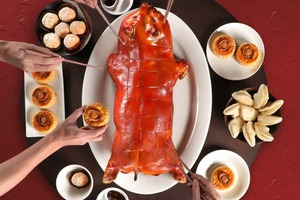 【新年外賣2021】盆菜以外9大團年飯外賣到會推介  北京填鴨/乳豬/活海鮮/外賣火鍋/和牛斧頭扒