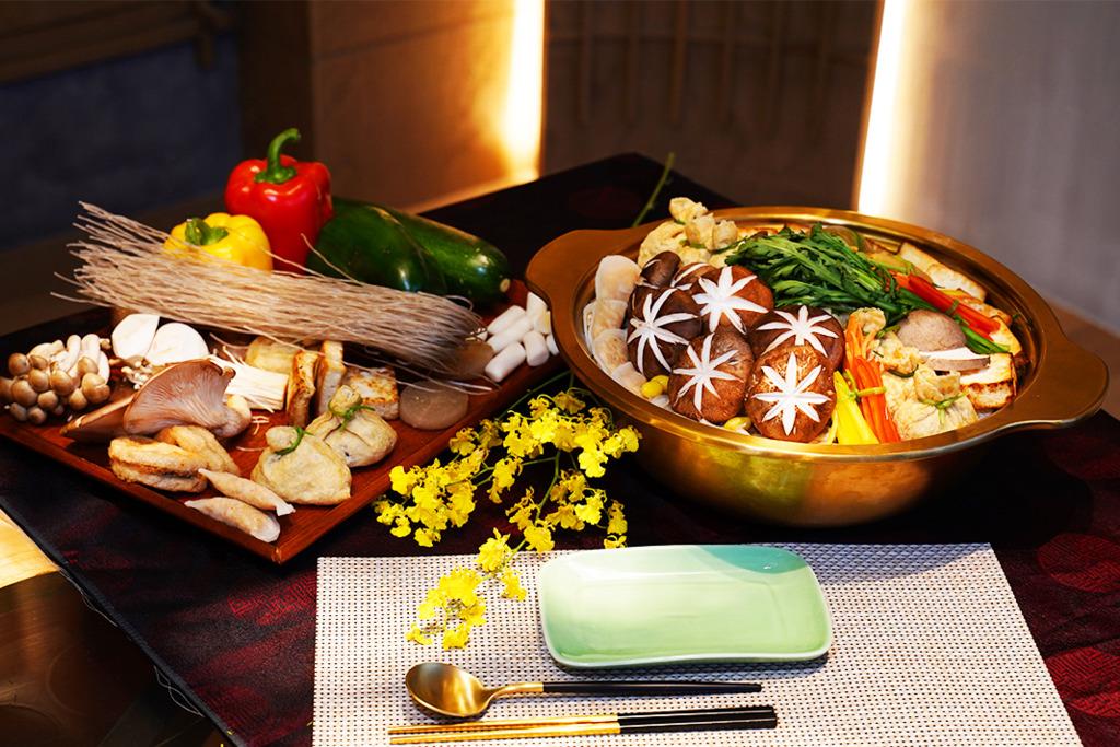 【新年外賣2021】尖沙咀新派韓式素食餐廳推出素食盆菜外賣 蘿蔔餃子/粉絲雜菜腐皮福袋/韓式年糕