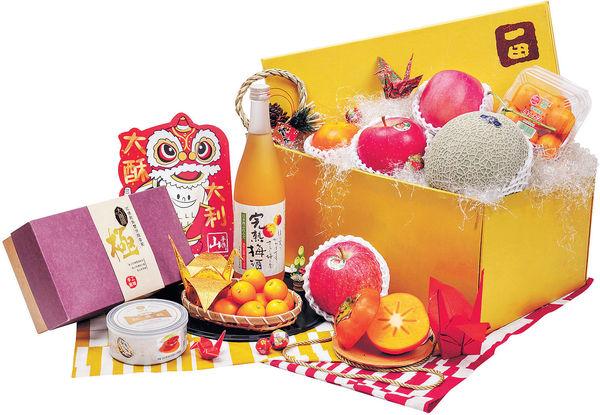 一田推多款賀年禮籃 網羅環球當造果物食材及台灣伴手禮