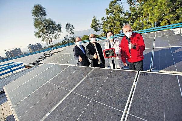 中電夥李寶椿書院太陽能項目 獲亞太區創新大獎