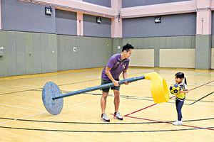 合球運動 培養小朋友合作精神