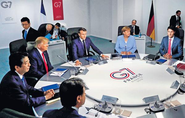 G7擬6月舉行實體峰會 約翰遜︰聚焦重振經濟