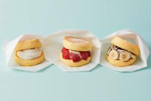 【銅鑼灣美食2021】銅鑼灣FLIPPER'S新出梳乎厘班戟漢堡外賣甜品 士多啤梨/香蕉朱古力/楓糖忌廉Pancake